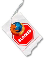 Firefox Blocked on Sites