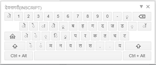 Google IME - Virtual Keyboard