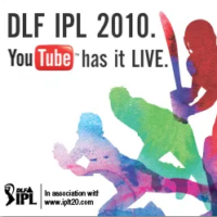 IPL 2010: Live on YouTube